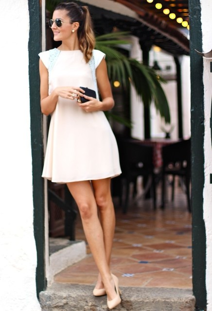 White dress outfit ideas 3