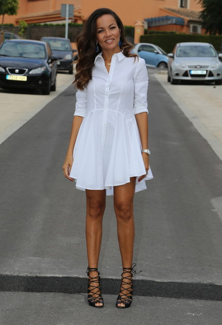 White dress outfit ideas 5