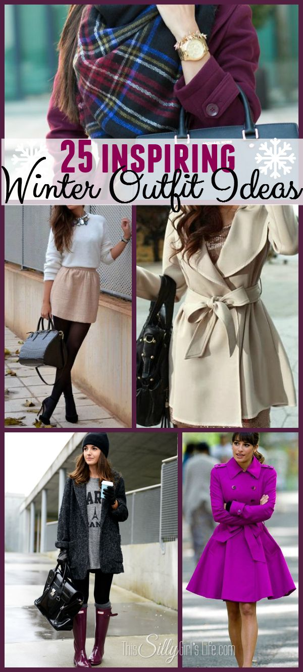 Winter outfit ideas: inspired by