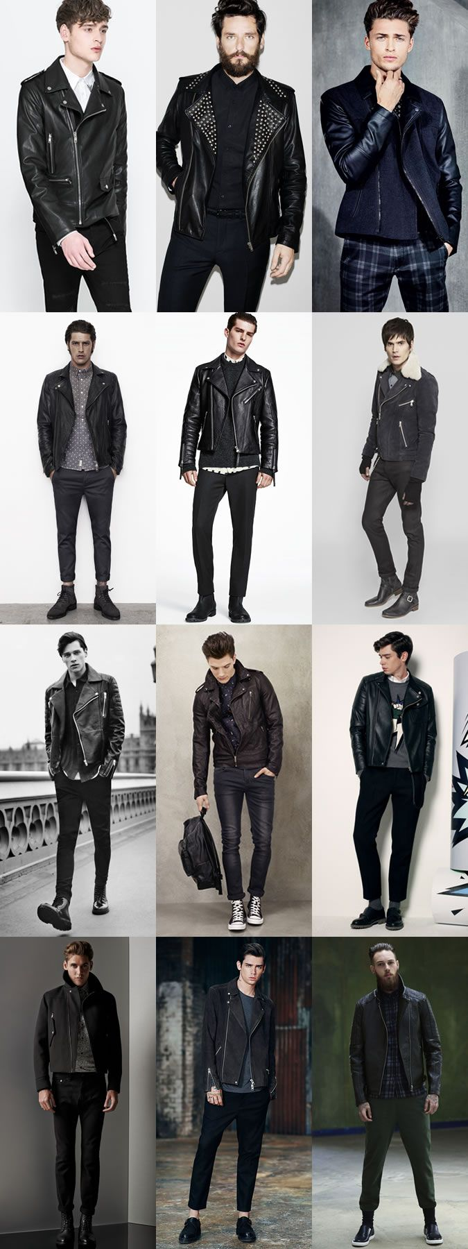 Purchase Leather Jacket Fashionbeans Up To 78 Off
